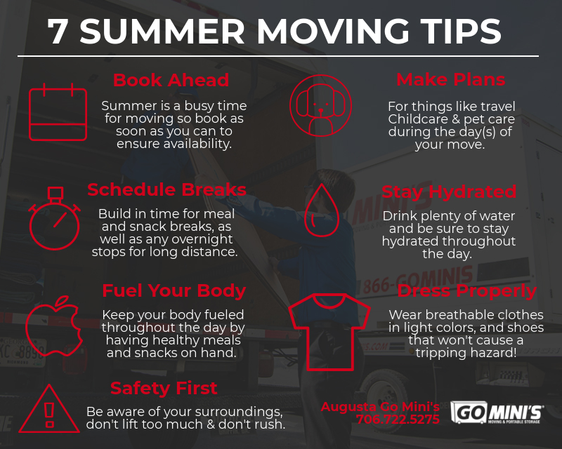 7 summer moving tips