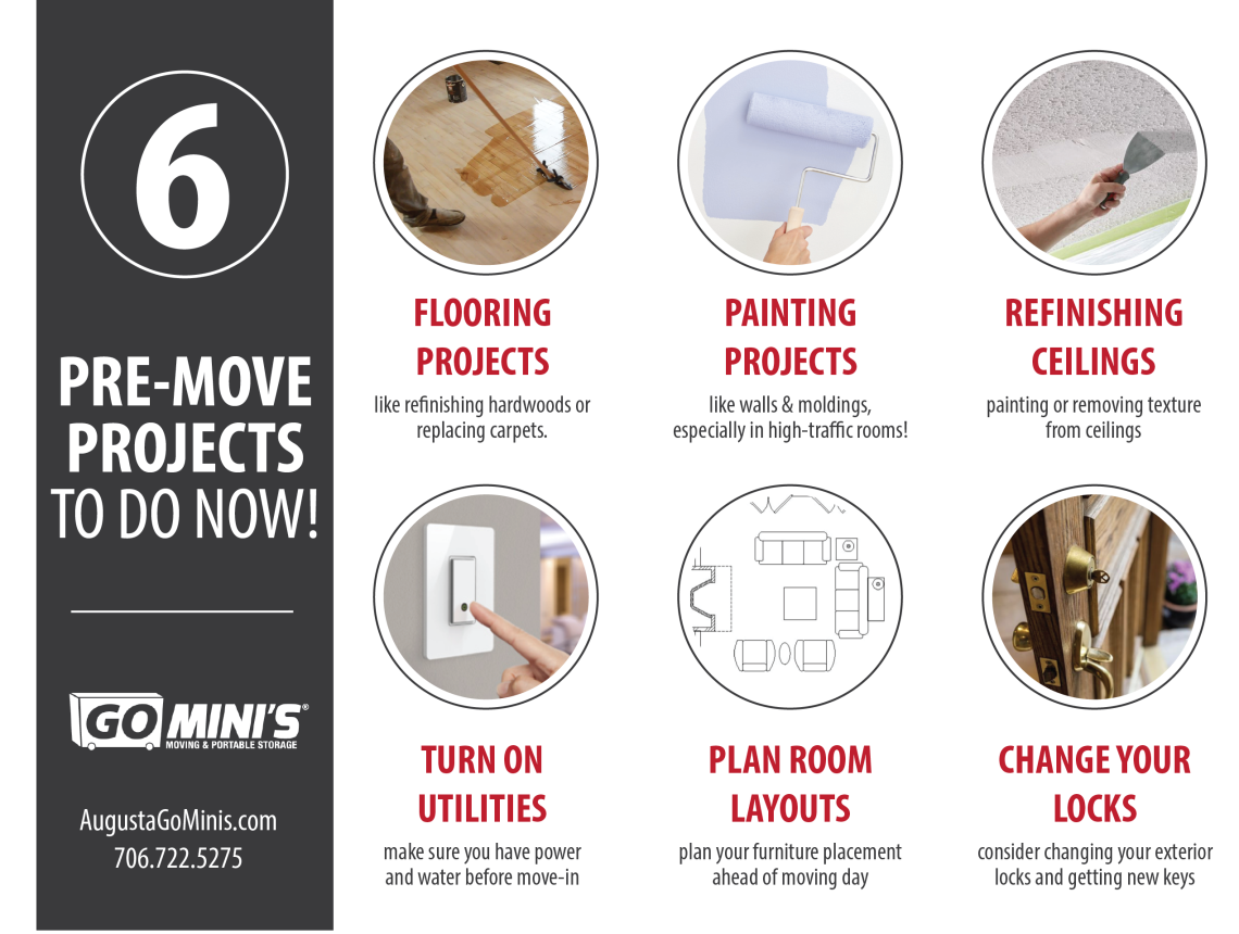 6 pre-move projects to do now