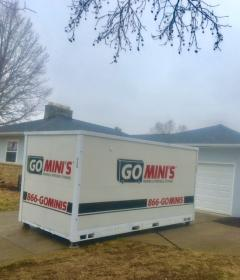 Go Mini's unit in front of house