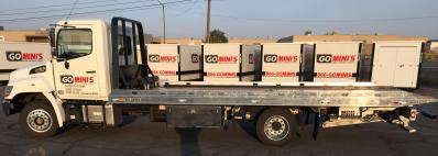 Go Mini's truck bed