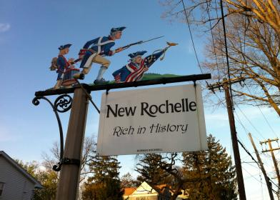 New Rochelle sign
